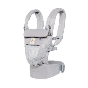 Canguru Adapt Cool Air Mesh Pearl Grey - Ergobaby