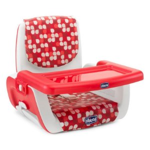 Cadeira de Alimentação Assento Elevatório Chicco Mode - Scarlet