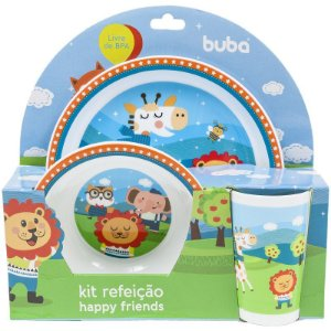 Kit Refeição Happy Friends