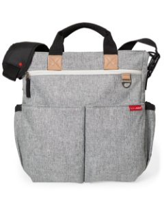 Bolsa Maternidade Diaper Bag Duo Signature Grey Melange - Skip Hop