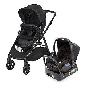 Carrinho de Bebê Travel System Anna Black Preto - Maxi-Cosi
