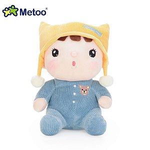 Boneca Sweet Candy Bebe Azul - Metoo
