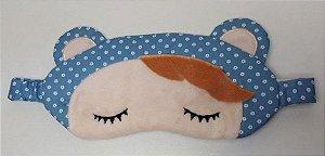 Máscara Tapa Olhos Metoo Doll Angela Azul