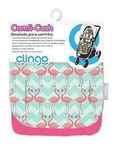 Colchão para Carrinho Comfi Cush Flamingo - Clingo