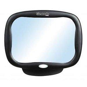 Espelho para Carro Retrovisor com Led e Controle Remoto - Girotondo Baby