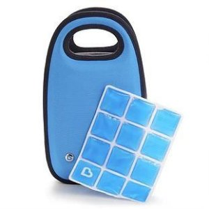 Bolsa Térmica para 4 Mamadeiras Azul - Munchkin