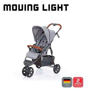Carrinho de Bebê Moving Light Woven Grey Cinza -  ABC Design