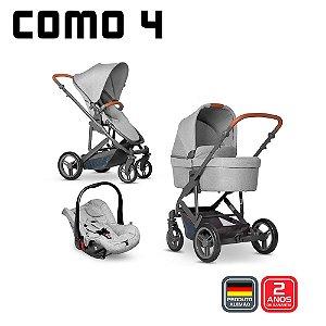 Carrinho COMO 4 Woven Grey Bebê Conforto Graphite - ABC Design