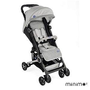 Carrinho de Bebê Miinimo 2 com Barra de Proteção Pearl - Chicco