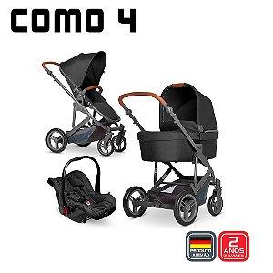 Carrinho de Bebê COMO 4 Bebê Conforto Black - ABC Design
