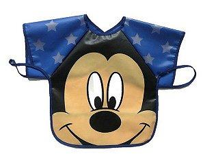 Babador Impermeável Avental Mickey - Girotondo Baby