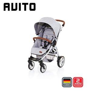 Carrinho de Bebê Avito Graphite Grey Cinza ABC Design