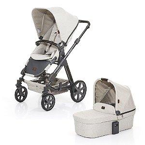 Carrinho de Bebê Travel System Condor 4 com Moisés Camel ABC Design