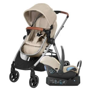 Carrinho de Bebê Travel System Anna Nomad Sand - Maxi Cosi