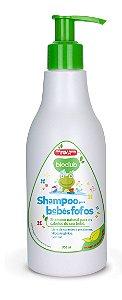 Shampoo Infantil com Keratina sem Sal Bioclub Baby 300 ml