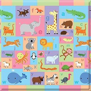 Tapete de Atividades Dupla Face Baby Play Mat Pequeno Busy Farm  - Safety 1st