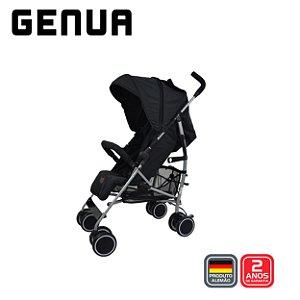 Carrinho de Bebê Guarda Chuva Genua Woven Black - ABC Design