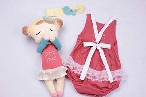 Vestido Infantil Angela Bailarina Coleção Metoo