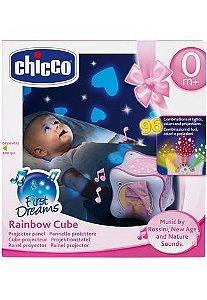Projetor Rainbow Cube Rosa - Chicco