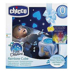 Projetor Rainbow Cube Azul - Chicco