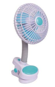 Mini Ventilador Portátil Para Carrinho e USB - Girotondo Baby