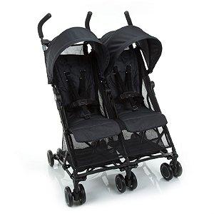 Carrinho de Bebê Gêmeos Nano Two Black Preto - Safety 1st