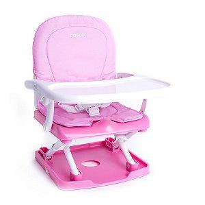 Cadeira de Alimentação Portátil Pop Rosa - Cosco