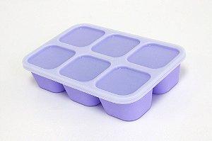 Forma para Congelar Baleia Roxa - Marcus & Marcus