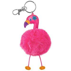 Chaveiro Pom Pom Flamingo Rosa - Stephen Joseph