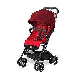 Carrinho de Bebê Qbit + Dragonfire Red Vermelho - GB Gold