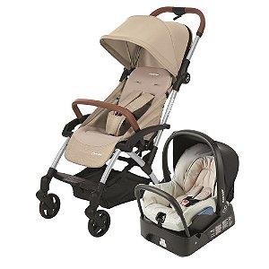 Carrinho de Bebê Travel System Laika Nomad Sand - Maxi-Cosi