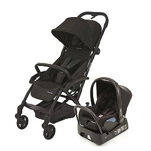 Carrinho de Bebê Travel System Laika Nomad Black Preto - Maxi-Cosi