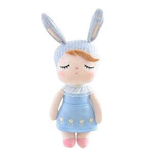 Mini Boneca Ângela Clássica Azul - Metoo Doll