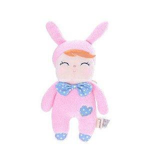 Mini Boneca Ângela Clássica pink bunny - Metoo Doll