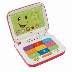 Laptop Aprender e Brincar Rosa - Fisher price