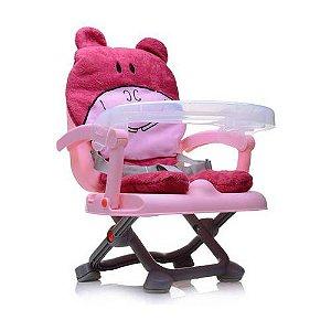 Cadeira De Alimentação Hipopótamo Rosa - Dican
