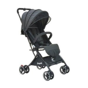 Carrinho de Bebê Compacto IT Preto - Burigotto