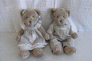 Casal Urso Sylena e Dawson