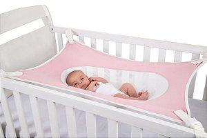 Cama Segura Primeiro Sono Rosa - Baby Pil