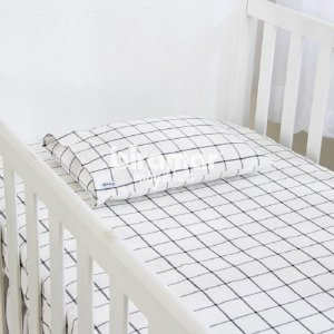 Lençol Berço/Elástico/Fronha (Boston Preto) - Biramar Baby & Kids