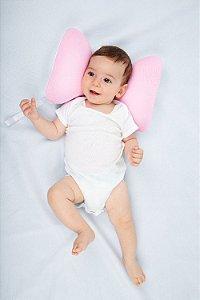 Suporte para Cabeça Borboleta Rosa - Baby Pil