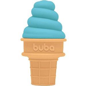 Mordedor de Silicone Sorvete Azul - Buba Baby