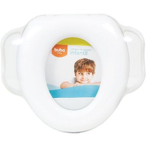 Redutor de Assento Infantil Penico Branco - Buba Baby