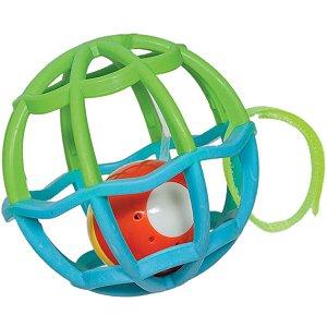 Baby Ball Luz e Som Azul e Verde - Buba Baby