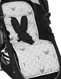 Protetor de Carrinho de Bebe Gatinhos