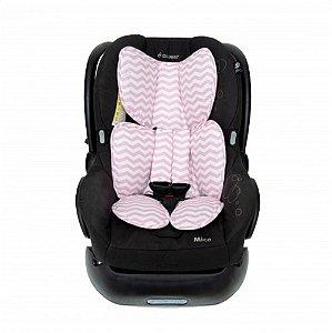 Protetor para Bebe Conforto Chevron Rosa