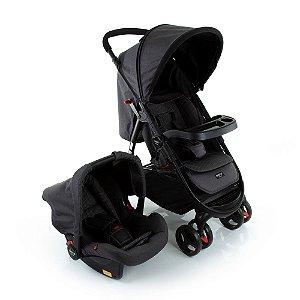 Carrinho de Bebê Travel System Nexus Preto Mescla - Cosco