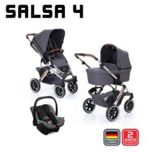 Travel System Salsa 4 Diamante TRIO - ABC Design