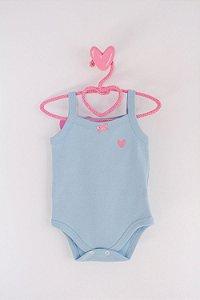 Body Belly Liso Verão Azul - Miss Filha