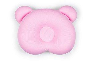Almofada Ergonômica Ursinho Rosa - Baby Pil